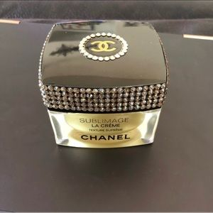 Chanel sublimage empty container embellished